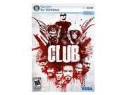 The Club PC Game Brand: SEGA ESRB Rating: M - Mature Genre: Shooter System Requirements: Operating System:  Microsoft Windows 2000 or XP with latest service pack installed    Processor:  Intel Pentium 4 2.0Ghz / AMD Athlon XP 2000  processor  (Intel Pentium 4 2.5Ghz/ AMD Athlon XP 2500  processor recommended)    Memory:   512MB system RAM (1GB system RAM recommended)    Video:  100% DirectX 9.0c compatible 64MB video card with latest manufacturer drivers (ATI Radeon X800 series or higher video card with latest manufacturer drivers recommended)    Disk Space: 2.2GB of uncompressed free hard drive space    DirectX Version: DirectX 9.0c