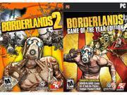 Borderlands 2 + Borderlands: Game of the Year Bundle Pack [Online Game Codes]