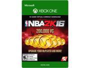 NBA 2K16 200,000 VC XBOX One [Digital Code]