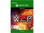 WWE 2K17: Season Pass Xbox One [Digital Code] 9B-32-205-356