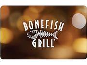 Bonefish Grill 25.00 Gift Card Email Delivery