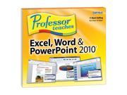 Individual Software Professor Teaches Word, Excel & PowerPoint 2010 (Jewel Case Edition)
