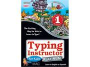 Individual Software Typing Instructor for Kids Platinum Mac Download
