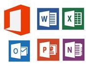 Microsoft Suite (Word + Excel + PowerPoint + OneNote + Outlook) 2013 Download - 1 PC