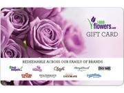 Image of 1-800-FLOWERS $50 Giftcard (Email Delivery)