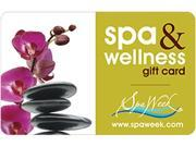 Spa and Wellness Gift Card by Spa Week $100 Gift Cards - Email Delivery