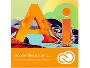 Adobe Illustrator CC - 12 Month Subscription - Digital Delivery