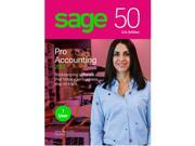 Sage 50 Pro Accounting 2019 - 1 User