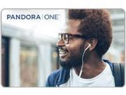 Pandora 12 Month Email Delivery