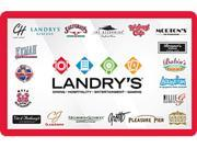 Landry's $50 Gift Card (Email Delivery)