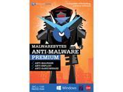 Malwarebytes Anti-Malware Premium - 3 PC / 1 Year (Key Card)