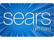 Sears 25 Gift Card Email Delivery