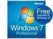 Microsoft Windows 7 Professional SP1 64-bit (3-Pack) - OEM
