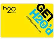 H2O Wireless $60 Monthly Unlimited Plan Wireless Code
