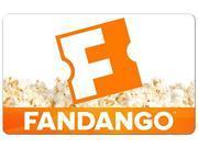 Fandango 25 Gift Card Digital Delivery