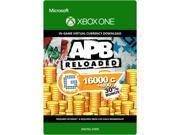 APB Reloaded 20800 G1C XBOX One [Digital Code]