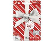 Visa $50 Gift Card (Metallic)