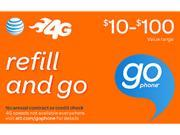 AT&T Prepaid Wireless $100 Refill Card (Email Delivery)