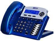 Xblue XB-1670-92 X16 Small Office Telephone - Vivid Blue