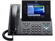 Cisco CP-8961-CL-K9= Unified IP Phone 8961, Charcoal, Slimline Handset, Spare