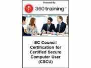 Image of EC Council Certification for Certified Secure Computer User (CSCU) – Self Paced Online Course