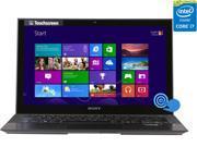 "SONY VAIO Pro Core i7 8GB 128GB SSD 11.6"" FHD Touchscreen Ultrabook Windows 8 (SVP11214CXB)"
