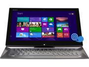 "SONY VAIO Duo Core i7 8GB 256GB SSD 13.3"" FHD Touchscreen 2-in-1 Ultrabook Windows 8 Pro (SVD13225PXB)"
