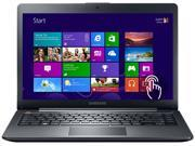 "SAMSUNG Laptop ATIV Book 5 NP540U4E-K03US Intel Core i5 3337U (1.80 GHz) 4 GB Memory 500 GB HDD Intel HD Graphics 4000 14.0"" Touchscreen Windows 8 Pro 64-bit"