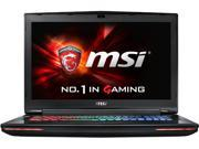 "MSI GT72S Dominator Pro G-220 Gaming Laptop 6th Generation Intel Core i7-6820HK (2.7 GHz) 32 GB Memory 1 TB HDD 256 GB SSD NVIDIA GeForce GTX 980M 8 GB GDDR5 17.3"" IPS Windows 10 Home"