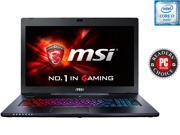 "MSI GS Series GS70 Stealth Pro-006 Gaming Laptop 6th Generation Intel Core i7 6700HQ (2.60 GHz) 16 GB Memory 1 TB HDD 128 GB SSD NVIDIA GeForce GTX 970M 3 GB GDDR5 17.3"" Windows 10 Home"