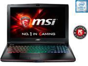 "MSI GE Series GE62 Apache Pro-004 Gaming Laptop 6th Generation Intel Core i7 6700HQ (2.60 GHz) 16 GB Memory 1 TB HDD NVIDIA GeForce GTX 960M 2 GB GDDR5 15.6"" Windows 10 Home"