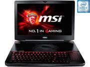 """MSI GT Series GT80S TITAN SLI-002 Gaming Laptop 6th Generation Intel Core i7 6820HK (2.7 GHz) 24 GB Memory 1 TB HDD 256 GB SSD NVIDIA GeForce GTX 980M SLI 8 GB GDDR5 18.4"""" Windows 10 Home"""