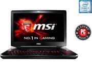 "MSI GT Series GT80S TITAN SLI-002 Gaming Laptop 6th Generation Intel Core i7 6820HK (2.7 GHz) 24 GB Memory 1 TB HDD 256 GB SSD NVIDIA GeForce GTX 980M SLI 8 GB GDDR5 18.4"" Windows 10 Home"