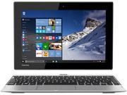 "TOSHIBA Satellite Click 10 LX0W-C-00V Intel Atom 2 GB Memory 32 GB eMMC SSD 10.1"" Touchscreen 2 in 1 Laptop Windows 10"