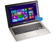 "ASUS Laptop VivoBook X202E-DH31T Intel Core i3 3217U (1.80GHz) 4GB Memory 500GB HDD Intel HD Graphics 4000 11.6"" Touchscreen Windows 8"