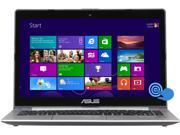 "ASUS S400CA-RSI5T18 Intel Core i5 3rd Gen 4 GB Memory 500 GB HDD 24 GB SSD 14"" Touchscreen Ultrabook Windows 8 64-Bit"