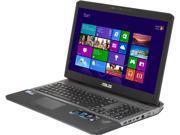 """ASUS ROG G75VW 17.3"""" Gaming Notebook with Intel Core i7-3610QM 2.30Ghz (3.30Ghz Turbo), 16GB DDR3 Memory, 750GB HDD+256GB SSD, GeForce GTX 670M , DVDRW, HD Webcam, Bluetooth 4.0, Windows 8"""