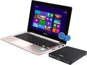 "ASUS Laptop VivoBook S200E-RHI3T73 Intel Core i3 3217U (1.80 GHz) 4 GB Memory 500 GB HDD Intel HD Graphics 4000 11.6"" Touchscreen Windows 8"