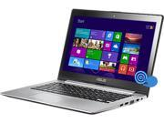 "ASUS VivoBook S300CA-BBI5T01 Notebook Intel Core i5 3337U (1.80GHz) 4GB Memory 500GB HDD Intel HD Graphics 4000 13.3"" Touchscreen Windows 8"