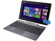 "ASUS 2-in-1 Laptop Transformer Book T100TA-C2-EDU Intel Atom Z3740 (1.33 GHz) 2 GB Memory 64 GB SSD 10.1"" Touchscreen Windows 8.1 Pro"