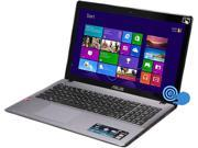 "ASUS K552EA-DH41T Notebook AMD A-Series A4-5000 (1.50GHz) 6GB Memory 750GB HDD AMD Radeon HD 8330 15.6"" Touchscreen Windows 8 64-bit"