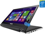 "ASUS Transformer Book Flip TP300LD-DB71T-CA Notebook Intel Core i7 4510U (2.00GHz) 8GB Memory 1TB HDD NVIDIA GeForce GT 820M 13.3"" Touchscreen Windows 8.1 64-bit"