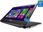 "ASUS Transformer Book Flip TP500LA-EB31T Intel Core i3-4030U (1.90GHz) 6GB Memory 500GB HDD 15.6"" Touchscreen 2in1 Laptop Windows 8.1 64-bit"