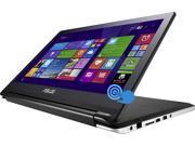 "ASUS Transformer Book Flip TP500LA-DH31T-CA Notebook Intel Core i3 4010U (1.7GHz) 6GB Memory 500GB HDD Intel HD Graphics 4400 Shared memory 15.6"" Touchscreen Windows 8.1 64-Bit"