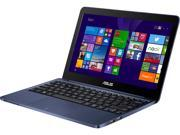 "ASUS X205TA-DS01-BL-OFCE Notebook Intel Atom Z3735F (1.33GHz) 2GB Memory 32GB SSD Intel HD Graphics 11.6"" Windows 8.1 64-Bit"