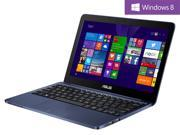 "ASUS Laptop EeeBook X205TA-DS01-BL-OFCE Intel Atom Z3735F (1.33GHz) 2GB Memory 32GB SSD Intel HD Graphics 11.6"" Windows 8.1 64-Bit"