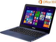 "ASUS EeeBook X205TA-DS01-BL-OFCE 11.6"" Windows 8.1 64-Bit Laptop"
