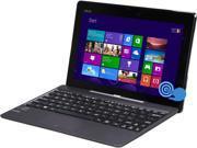 "ASUS Transformer Book T100TAF-C1-GR 2-in-1 Tablet Intel Atom Z3735F (1.33 GHz) 64 GB eMMC Intel HD Graphics Shared memory 10.1"" Touchscreen Windows 8.1 32-Bit"