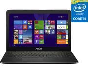 "ASUS Bilingual Laptop K555LB-Q52-CB Intel Core i5 5200U (2.20 GHz) 6 GB Memory 1 TB HDD NVIDIA GeForce 940M 15.6"" Windows 8.1 64-Bit"