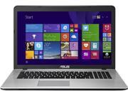 """ASUS X751LX-DB71 Gaming Laptop 5th Generation Intel Core i7 5500U (2.40GHz) 8GB Memory 1TB HDD NVIDIA GeForce GTX 950M 2 GB GDDR3 17.3"""" Windows 8.1 64-Bit"""